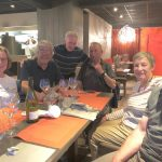 St Quay Restaurant – crew of Greta, Skipper's Pride and Magic
